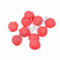 Fimo Strawberry Foam Sweet Charms Pk 10