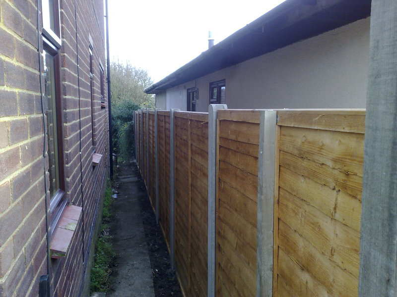Fencing - Boundary After