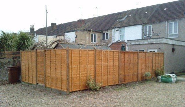 Rainham Kent Fence After 1