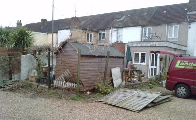 Rainham Kent Fence - Before 2