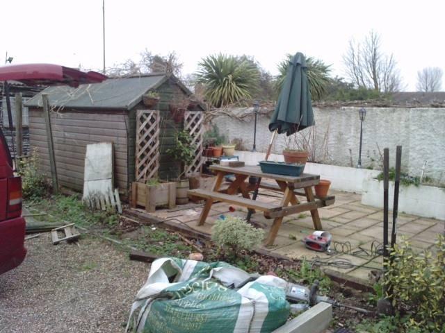 Rainham Kent Fence - Before