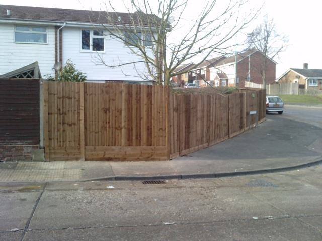 Parkwood Kent Fence After