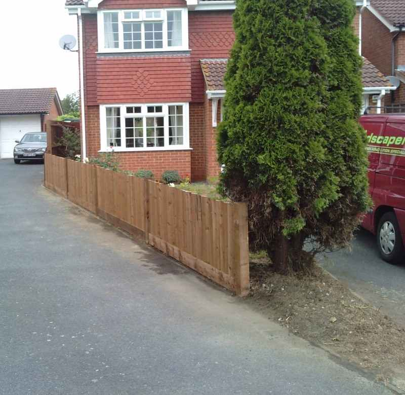 Maidstone Kent Boundary Fencing After