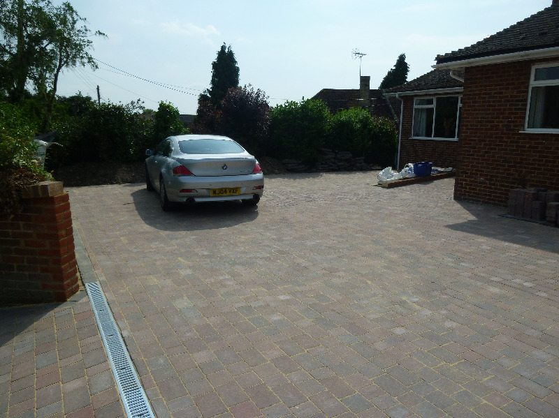 1 driveway grain finished