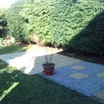 maidstone small patio after