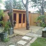 Maidstone Kent Summerhouse and Decking After