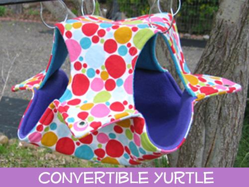 <!-- 0030 -->Convertible Yurtle