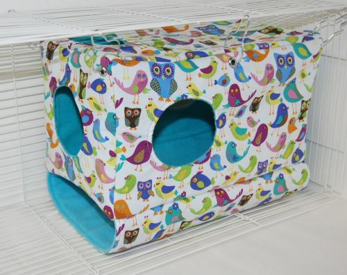 NEW Colorful Birds Peekaboo Playhouse
