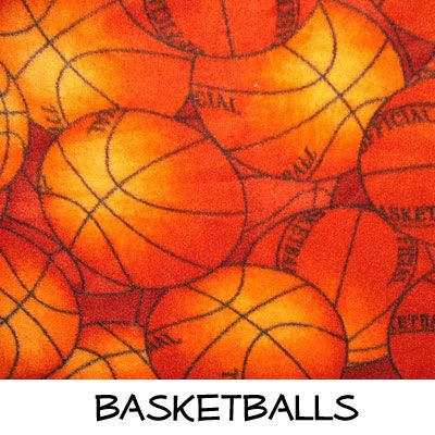 Fleece: Basketballs