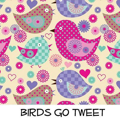 Fleece: Birds Go Tweet