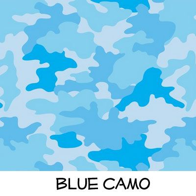 Fleece: Blue Camo