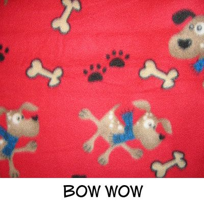 Fleece: Bow Wow