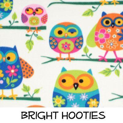 Fleece: Bright Hooties