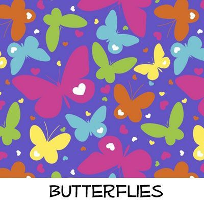 Fleece: Butterflies