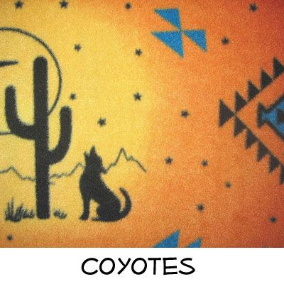 Fleece: Coyotes