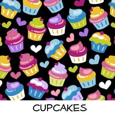 Fleece: Cupcakes