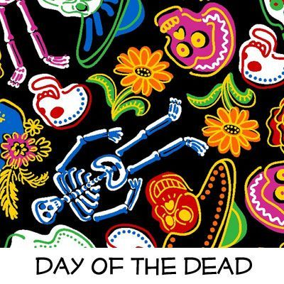 Fleece: Day of the Dead