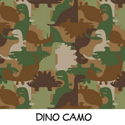 Fleece: Dino Camo