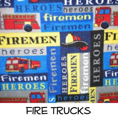 Fleece: Fire Trucks