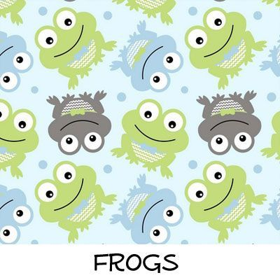 Fleece: Frogs
