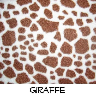 Fleece: Giraffe