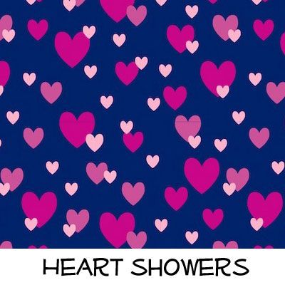 Fleece: Heart Showers
