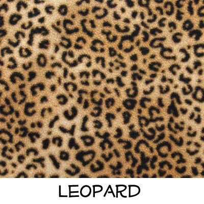 Fleece: Leopard