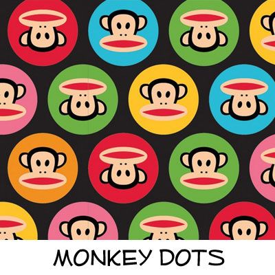 Fleece: Monkey Dots