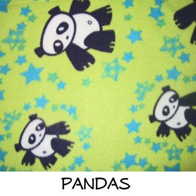 Fleece: Pandas