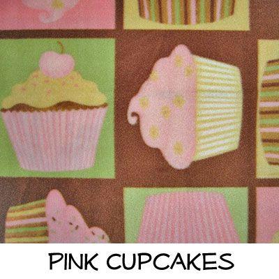 Fleece: Pink Cupcakes