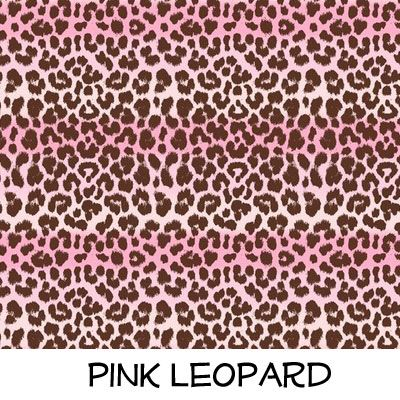 Fleece: Pink Leopard
