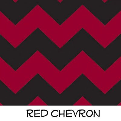 Fleece: Red Chevron