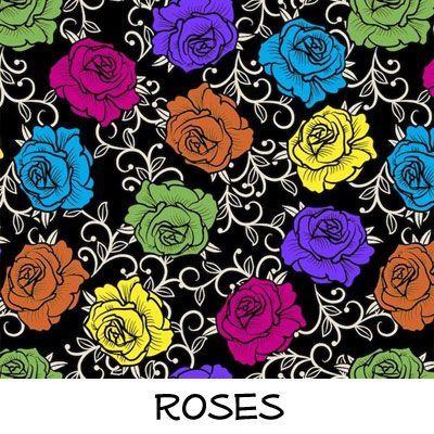 Fleece: Roses
