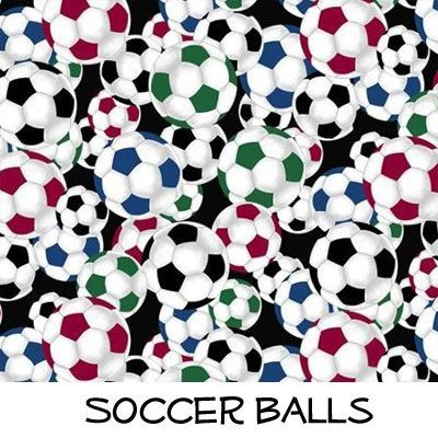 Fleece: Soccer Balls