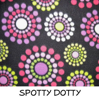 Fleece: Spotty Dotty