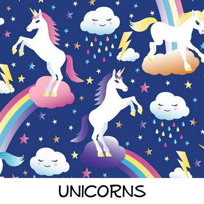 Fleece: Unicorns