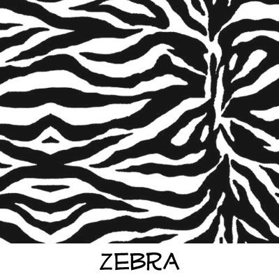 Fleece: Zebra
