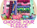Pick Your Fleece (by the yard) - incl. with all liners