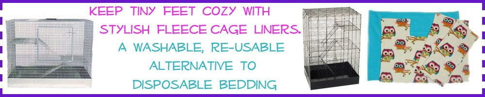 Washable, Reusable Cage Liners