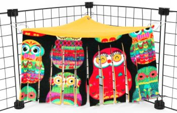 Owls Corner Curtain