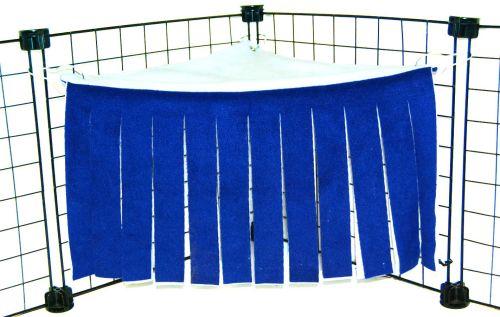 Royal/Soft Blue Curtain