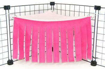 Fuschia/Pink Corner Curtain