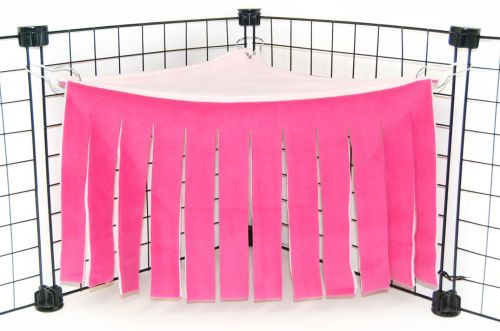 Fuschia/Pink Corner Curtain