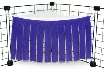 Purple/Lilac Corner Curtain