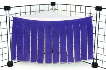 Purple/Lilac Corner Curtain