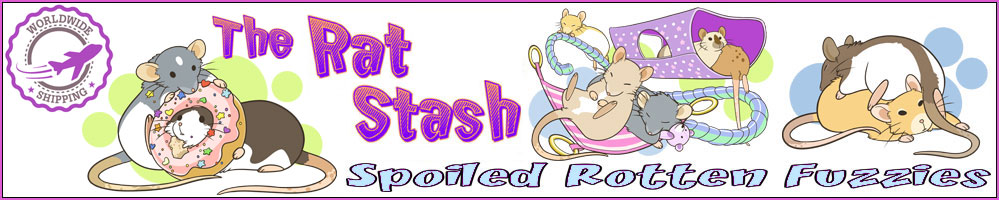 The Rat Stash, site logo.