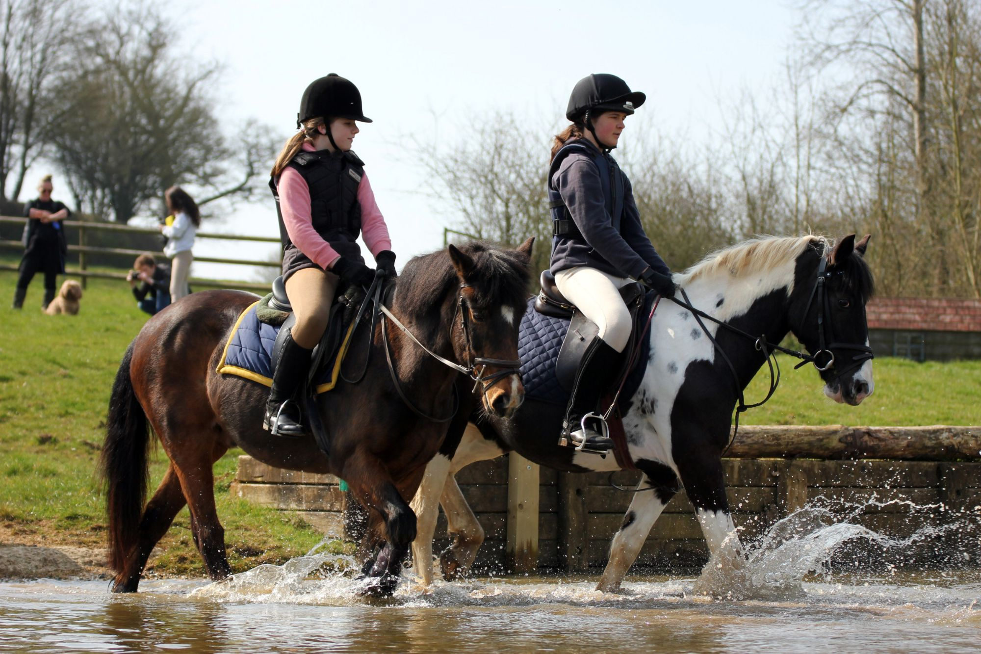 Sophie and Megan on Roger and Ted XC April 15