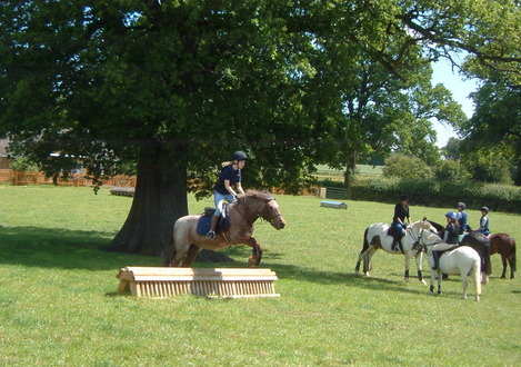 Naomi on Titch XC June 11