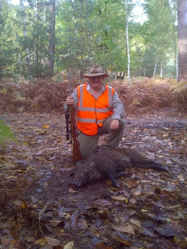 J. Bradley first Boar with SIE