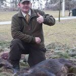 First Boar in France with Stalking in England